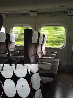 東海道新幹線で移動